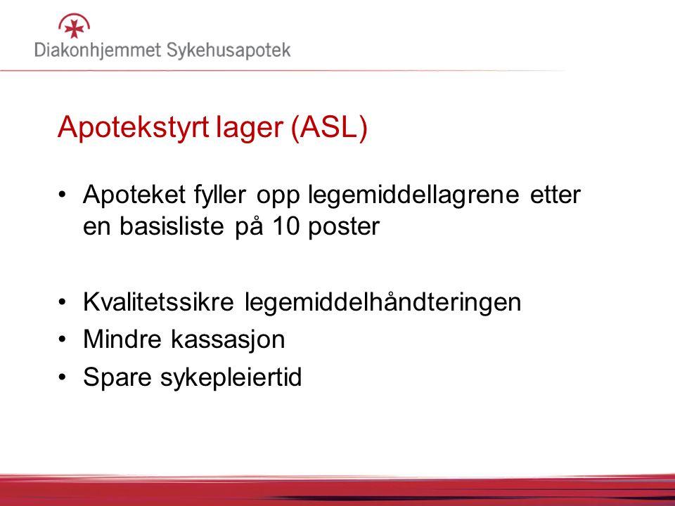 Apotekstyrt lager (ASL)