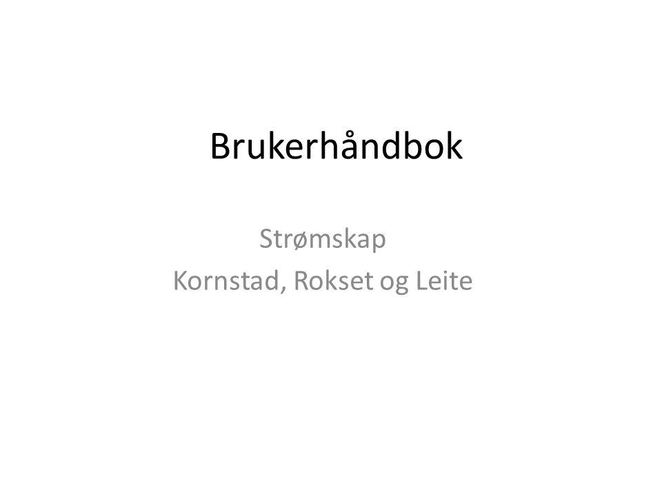 Strømskap Kornstad, Rokset og Leite