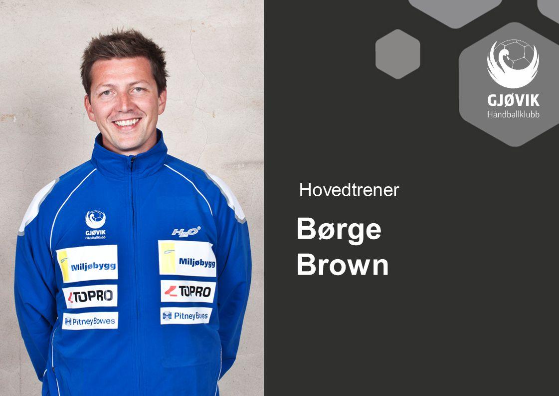 Hovedtrener Børge Brown