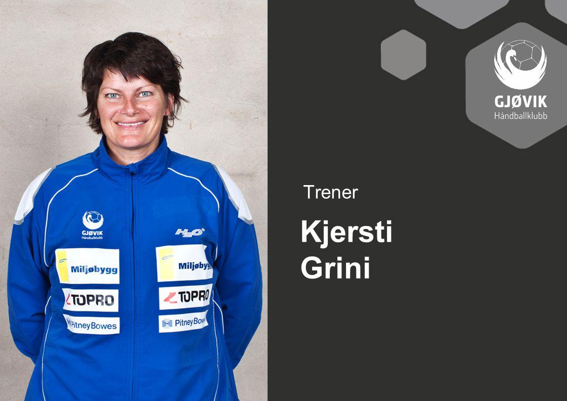 Trener Kjersti Grini
