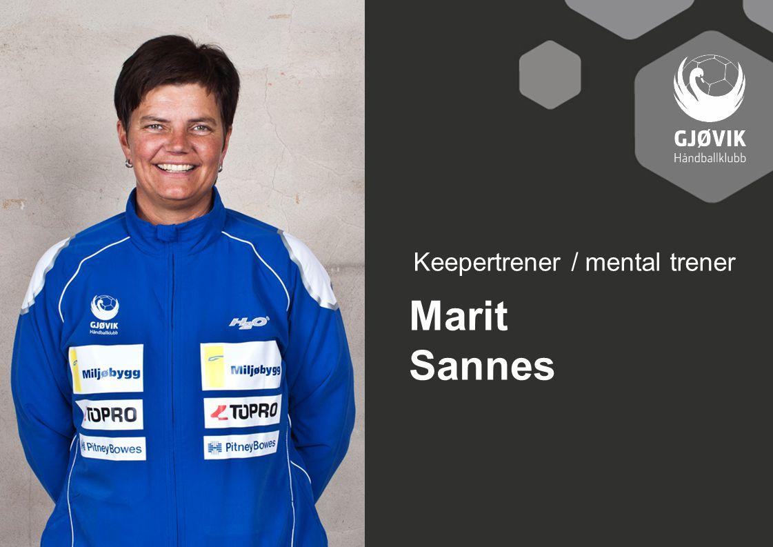 Keepertrener / mental trener