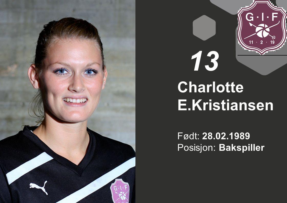 Charlotte E.Kristiansen