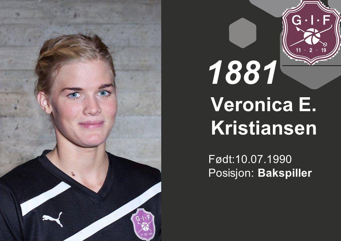 Veronica E. Kristiansen
