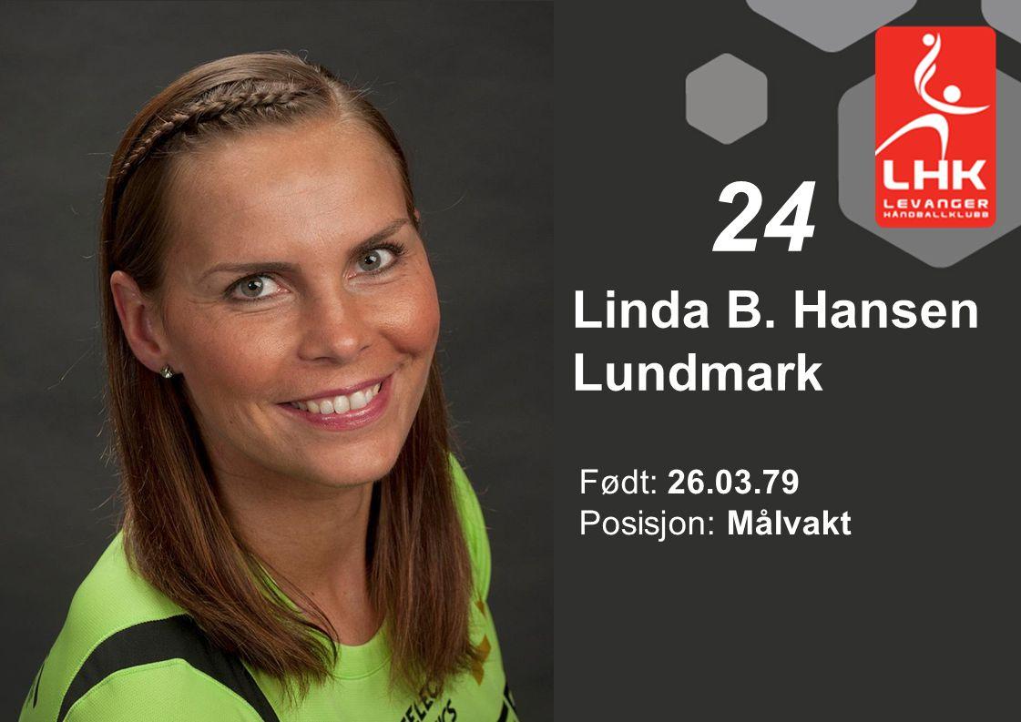 Linda B. Hansen Lundmark