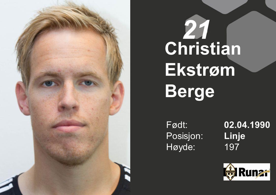 Christian Ekstrøm Berge