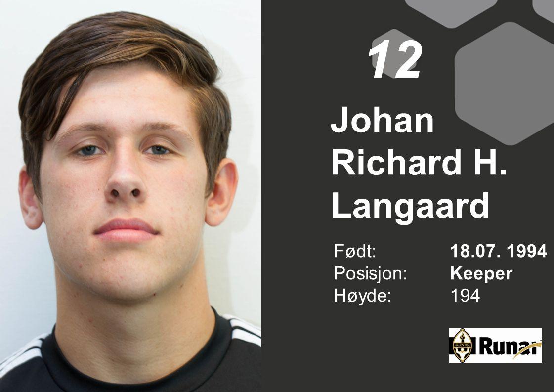 Johan Richard H. Langaard