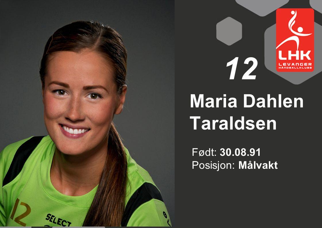 Maria Dahlen Taraldsen