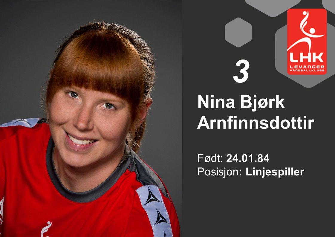 Nina Bjørk Arnfinnsdottir