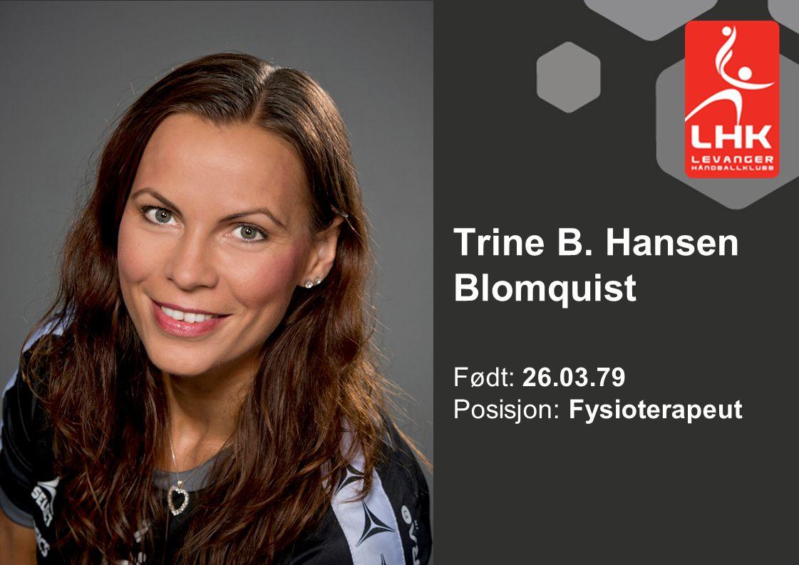 Trine B. Hansen Blomquist