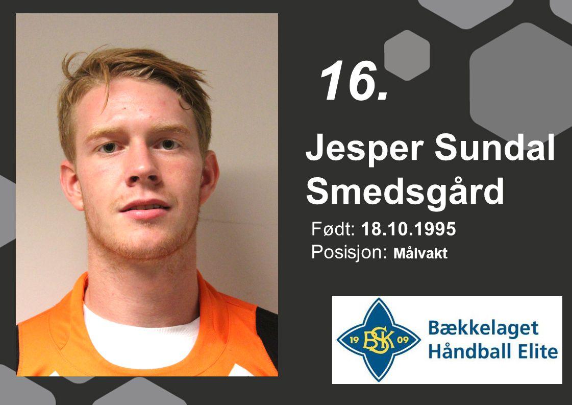 Jesper Sundal Smedsgård