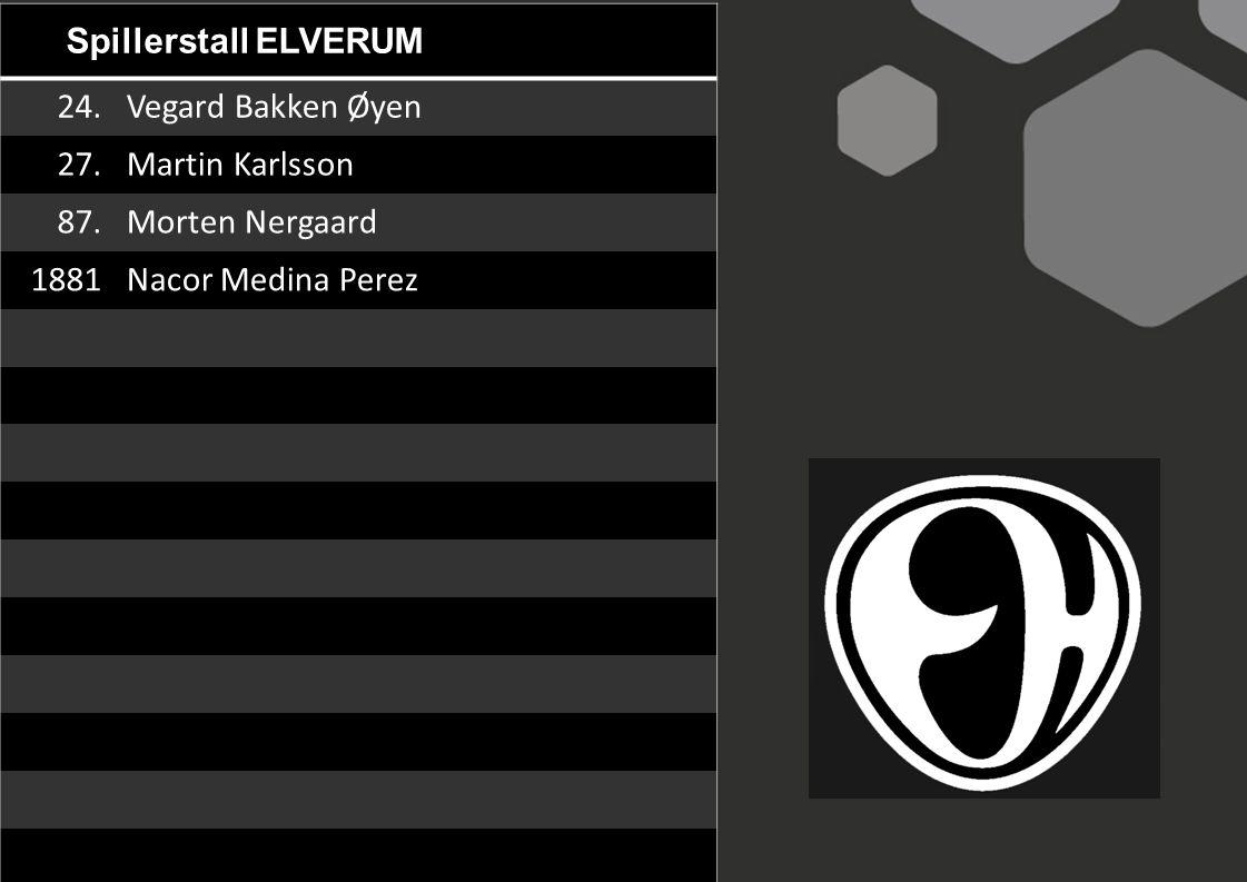 Spillerstall ELVERUM 24. Vegard Bakken Øyen. 27.