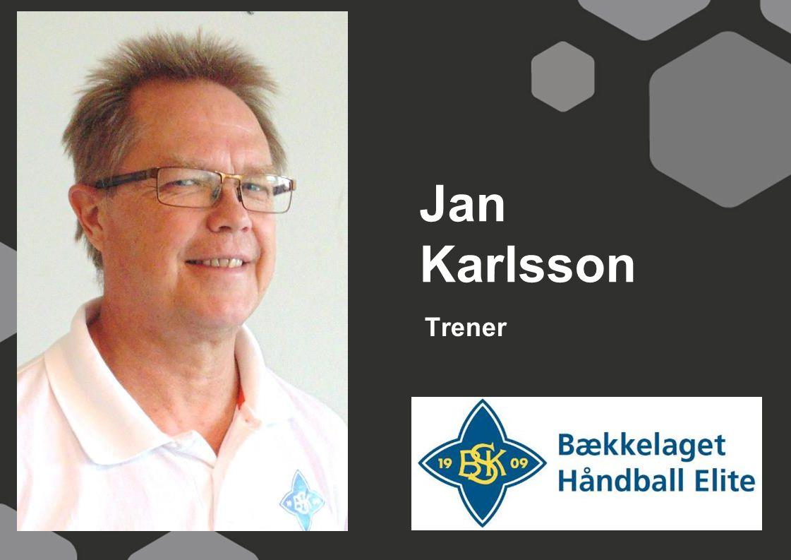 Jan Karlsson Trener