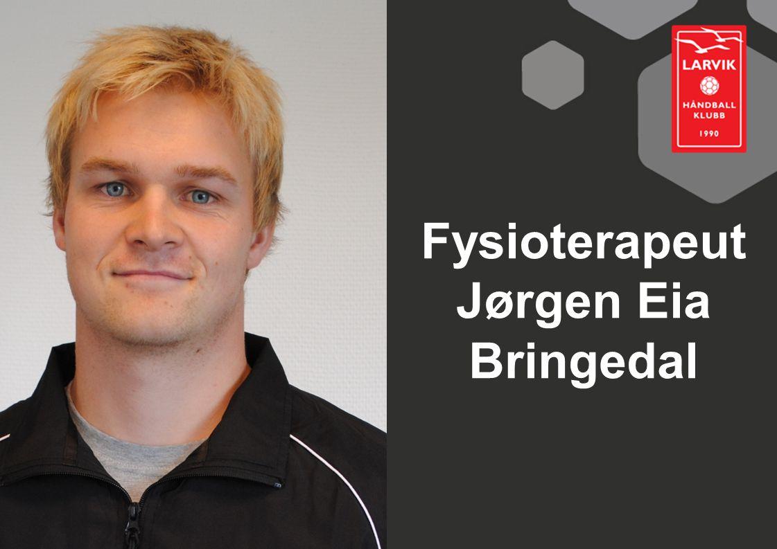 Fysioterapeut Jørgen Eia Bringedal