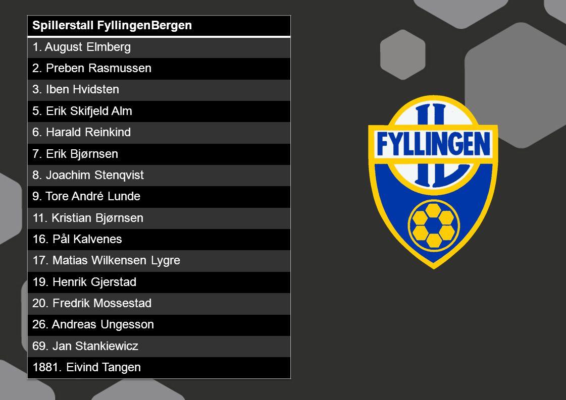Spillerstall FyllingenBergen