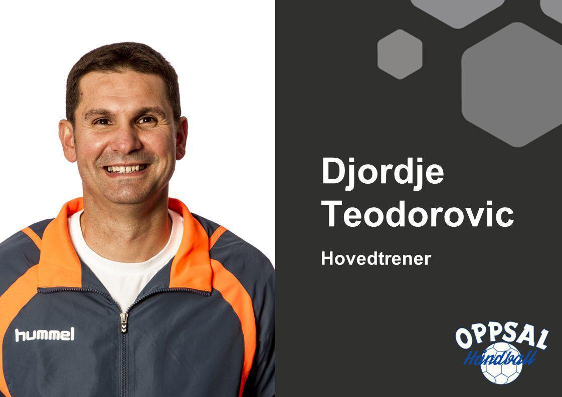 Djordje Teodorovic Hovedtrener