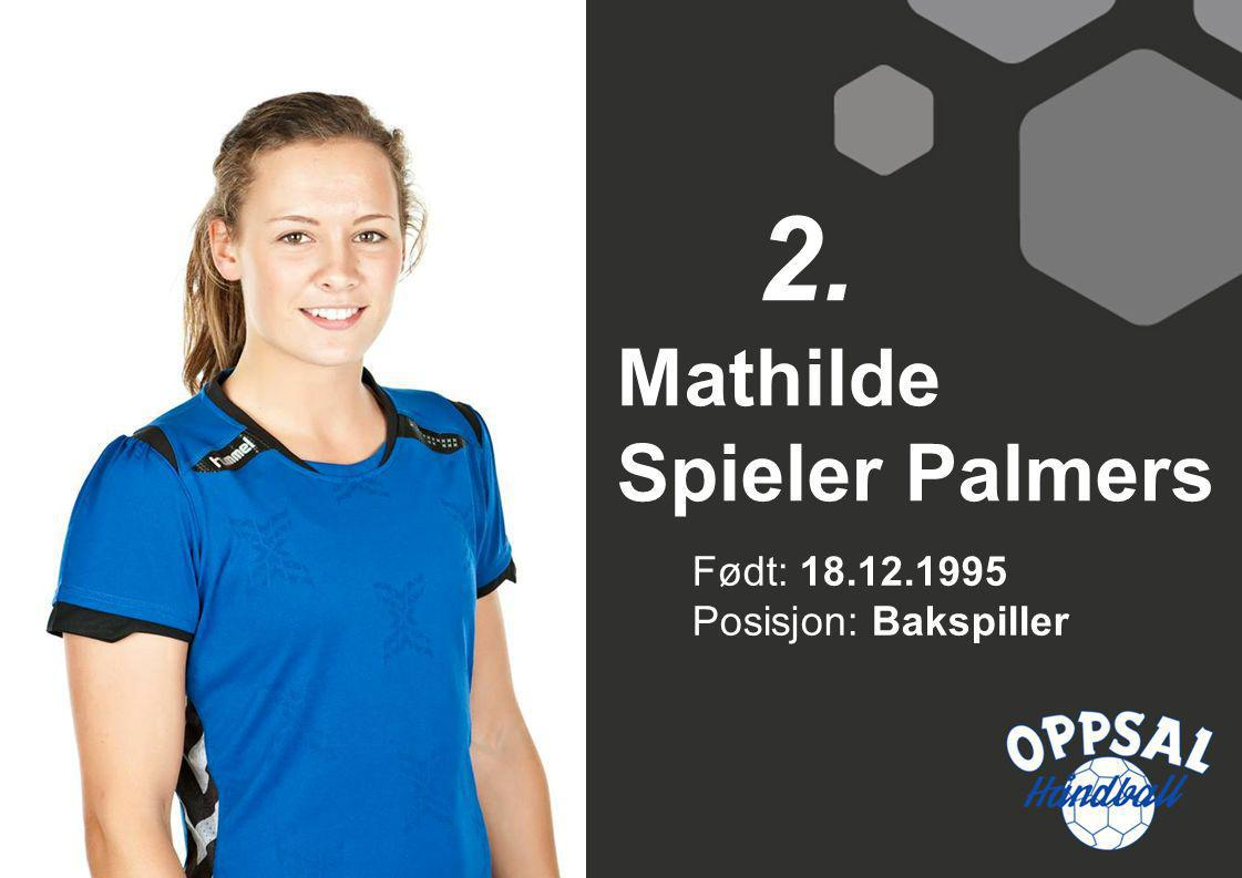 Mathilde Spieler Palmers