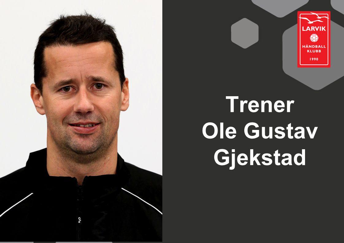 Trener Ole Gustav Gjekstad