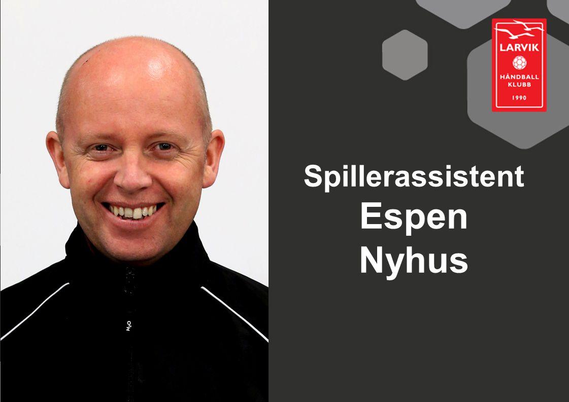 Spillerassistent Espen Nyhus