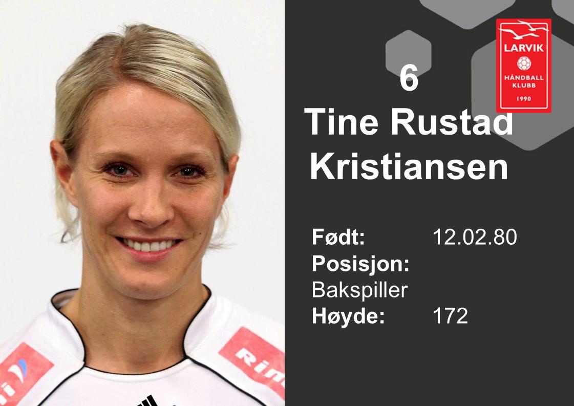6 Tine Rustad Kristiansen