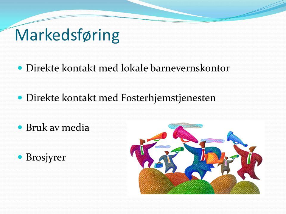Markedsføring Direkte kontakt med lokale barnevernskontor