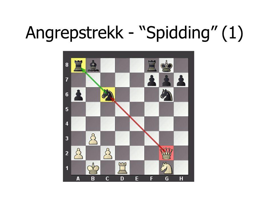Angrepstrekk - Spidding (1)