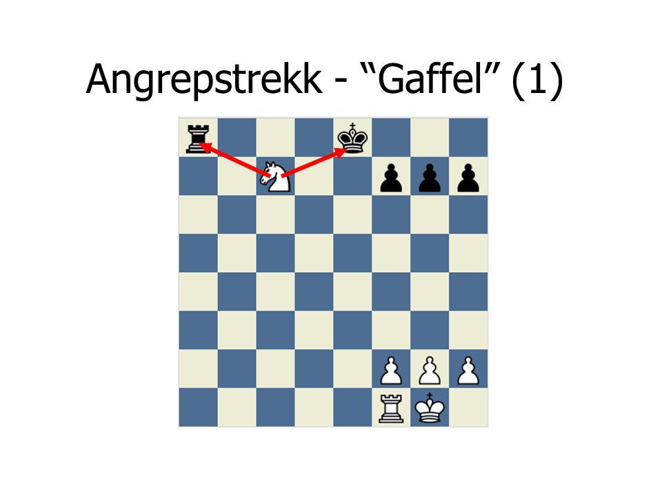 Angrepstrekk - Gaffel (1)
