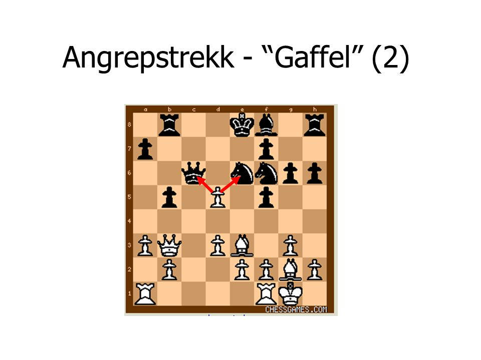 Angrepstrekk - Gaffel (2)