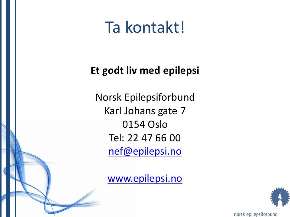 Et godt liv med epilepsi