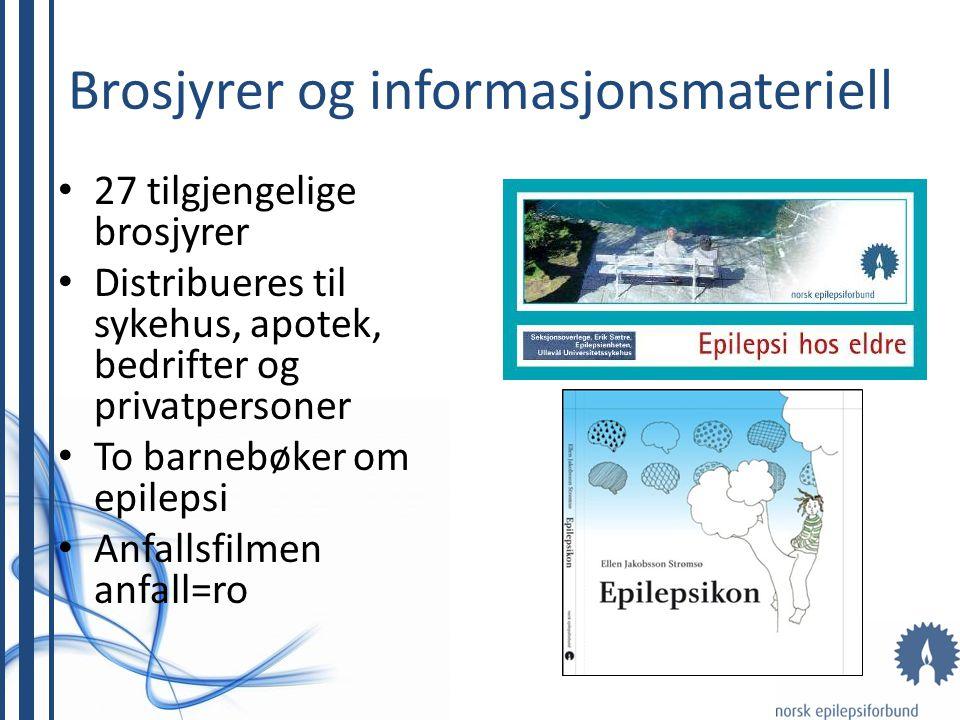 Brosjyrer og informasjonsmateriell