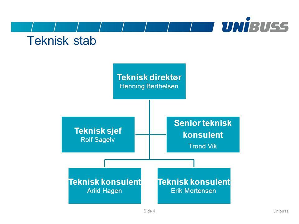 Teknisk stab Teknisk direktør Senior teknisk Teknisk sjef konsulent