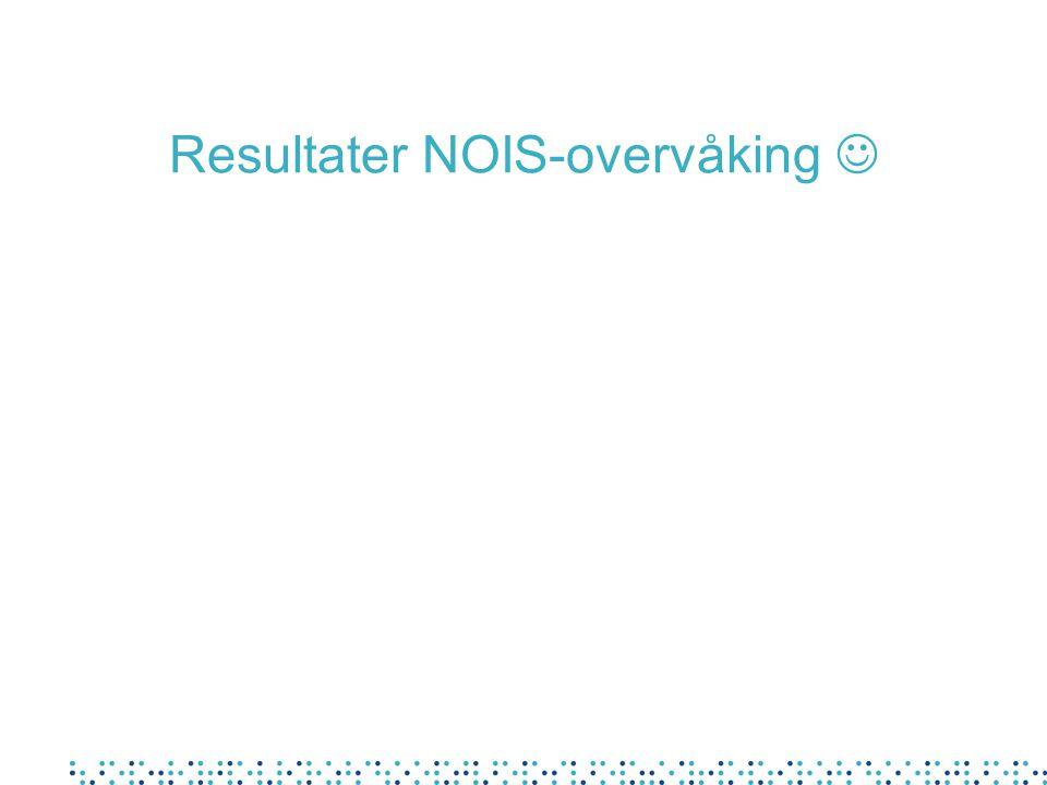 Resultater NOIS-overvåking 