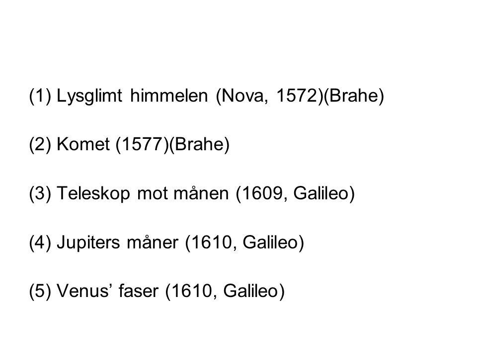 (1) Lysglimt himmelen (Nova, 1572)(Brahe)