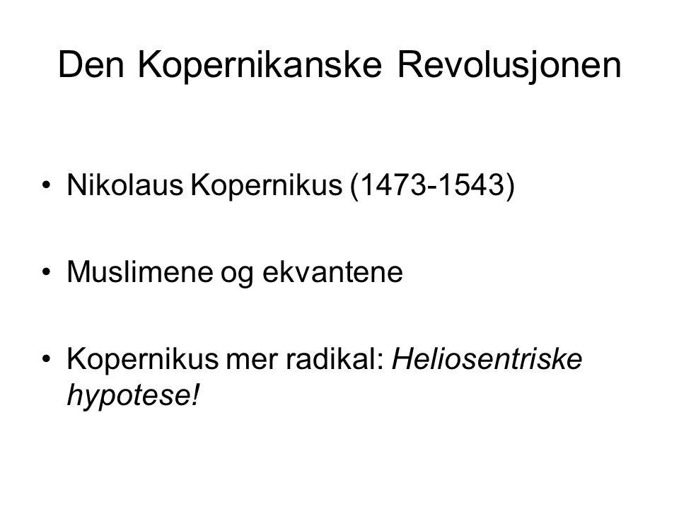 Den Kopernikanske Revolusjonen