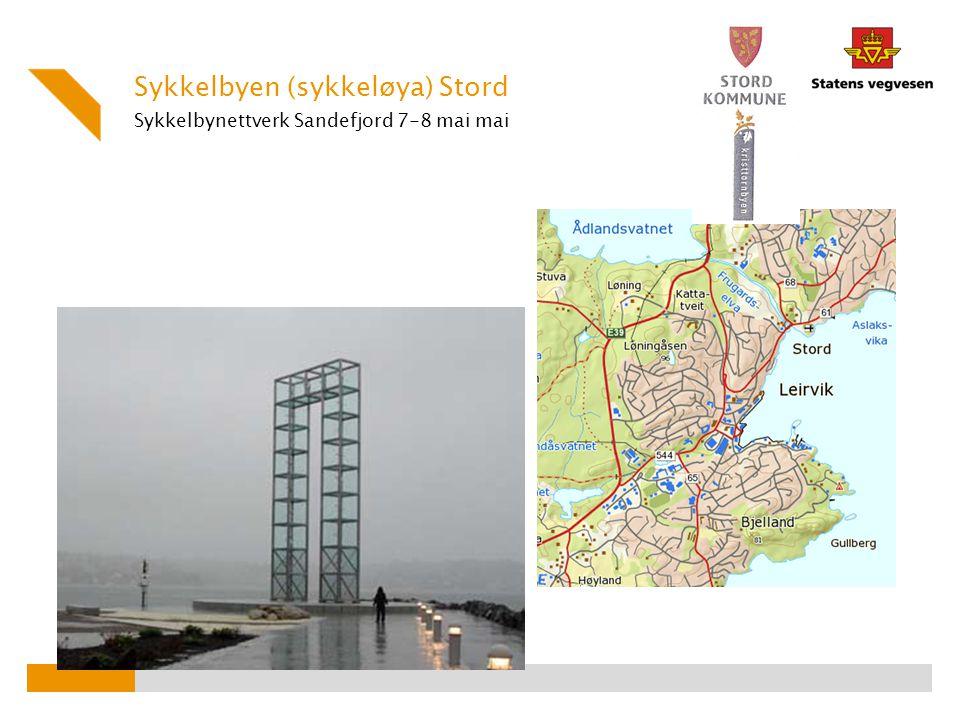 Sykkelbynettverk Sandefjord 7-8 mai mai
