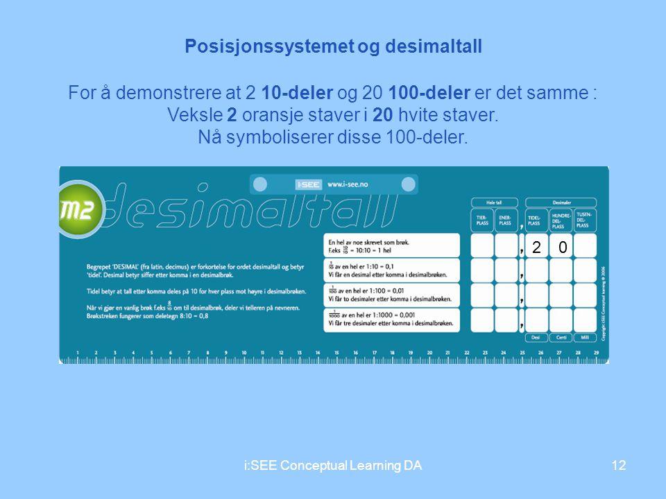 Posisjonssystemet og desimaltall