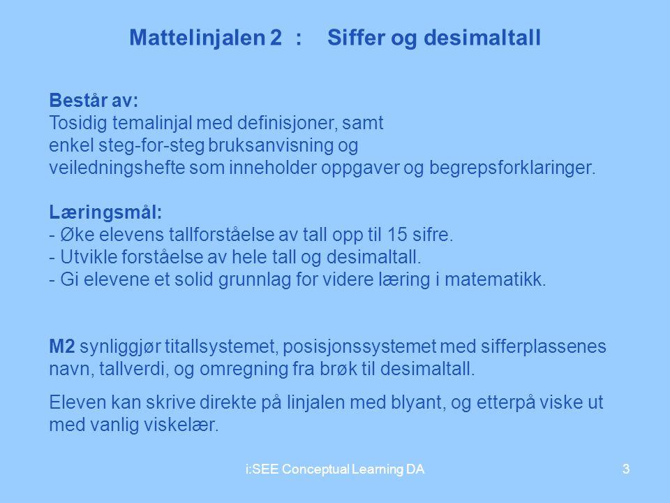 Mattelinjalen 2 : Siffer og desimaltall