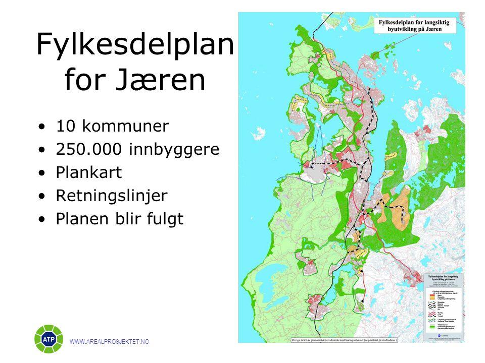 Fylkesdelplan for Jæren