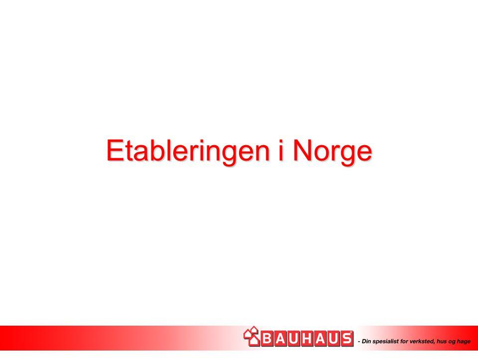 Etableringen i Norge
