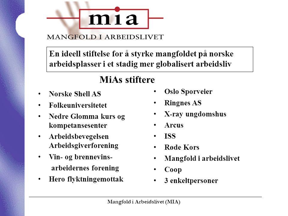 Mangfold i Arbeidslivet (MIA)