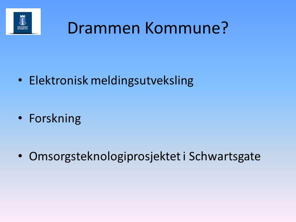 Drammen Kommune Elektronisk meldingsutveksling Forskning