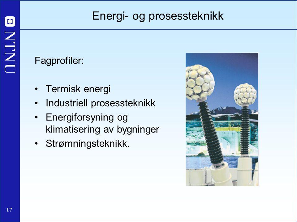 Energi- og prosessteknikk