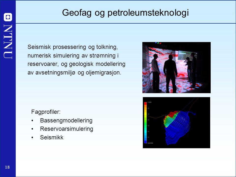 Geofag og petroleumsteknologi