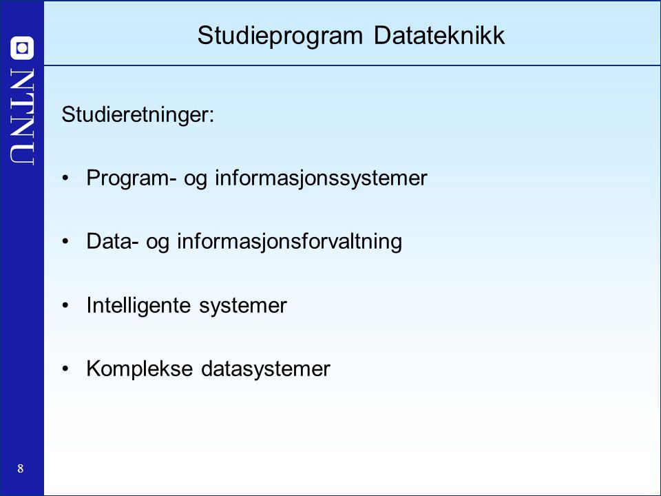Studieprogram Datateknikk