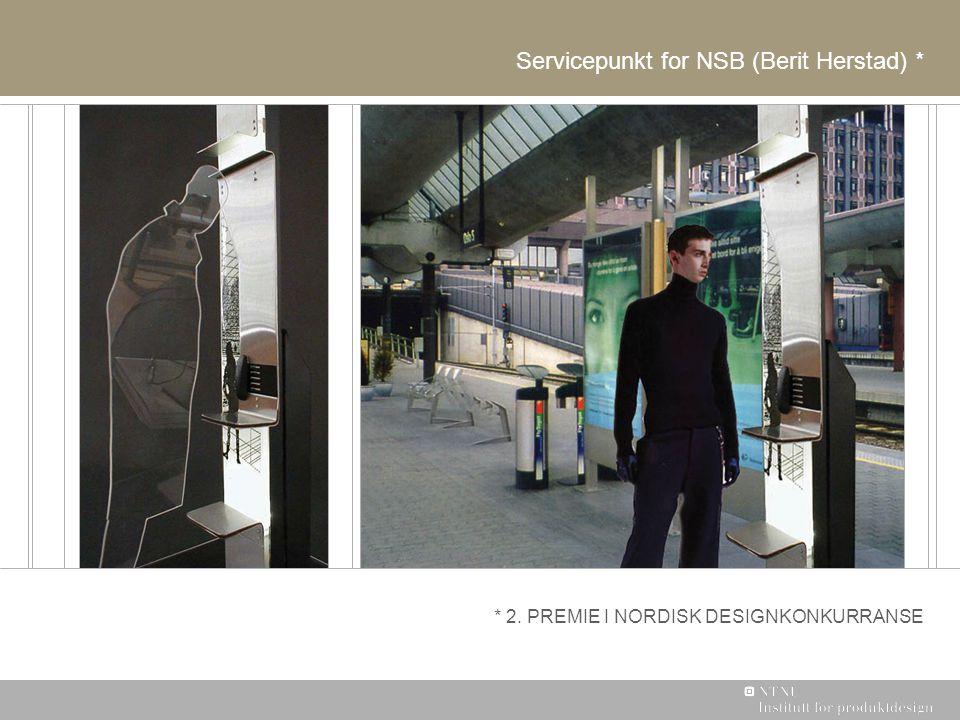 Servicepunkt for NSB (Berit Herstad) *