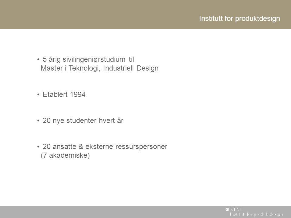 Institutt for produktdesign