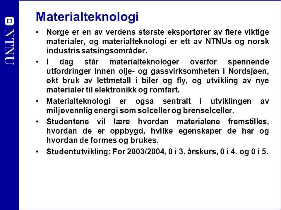 Materialteknologi