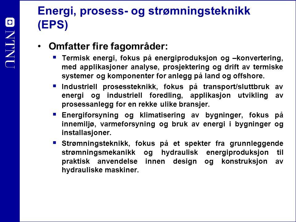 Energi, prosess- og strømningsteknikk (EPS)