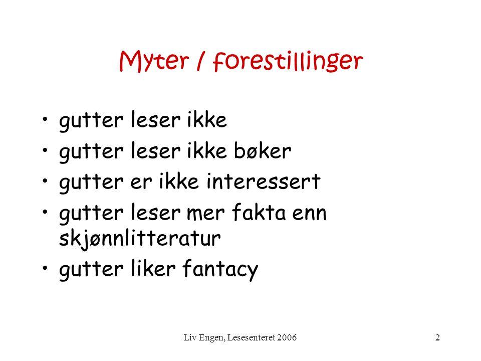 Myter / forestillinger