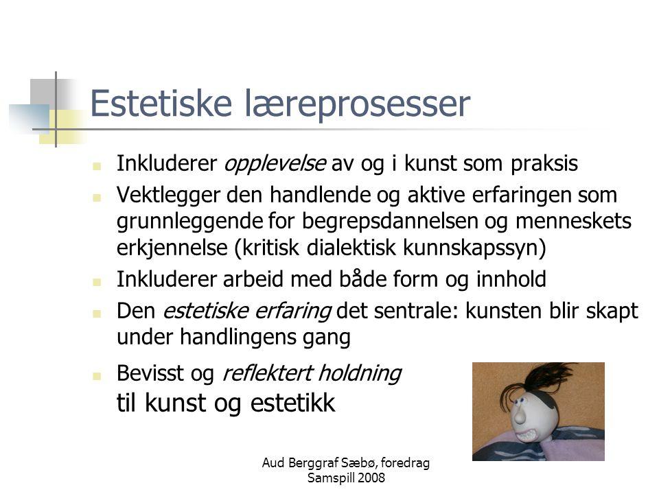 Estetiske læreprosesser