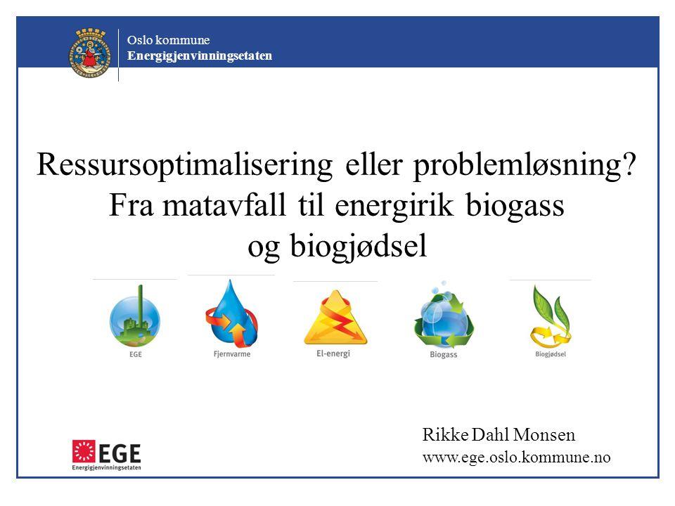 Ressursoptimalisering eller problemløsning
